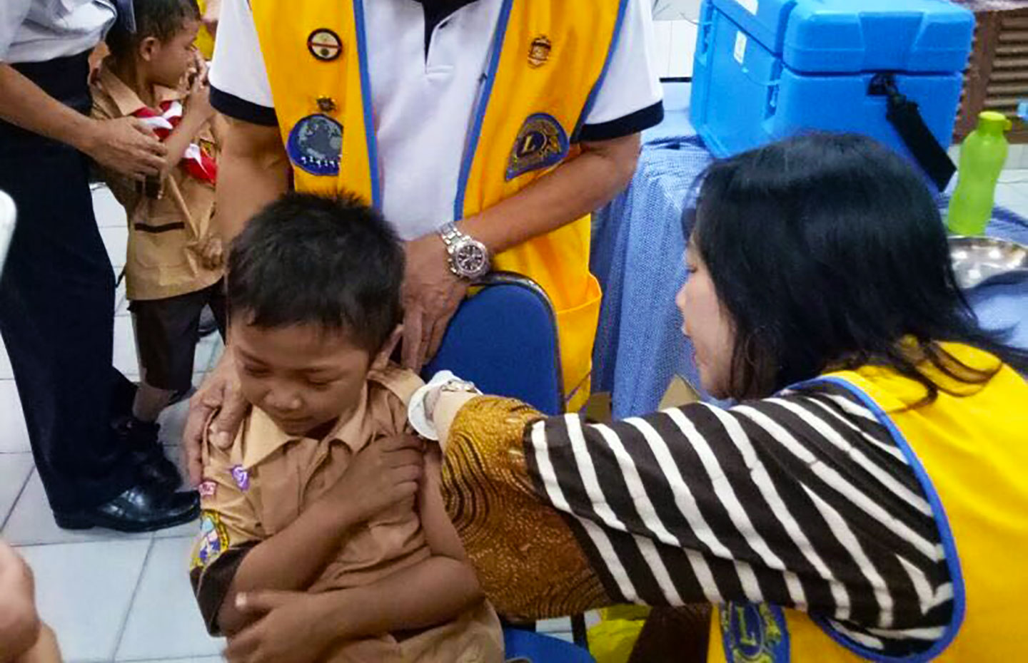 Making a roaring success of immunisation in Indonesia