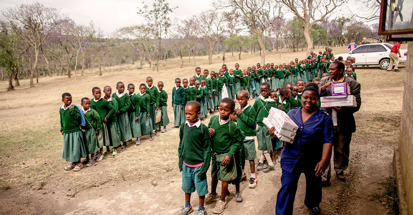 In 2014 Tanzania launched a nationwide campaign to protect 21 million children against measles and rubella. Credit: Gavi/2014/Karel Prinsloo.