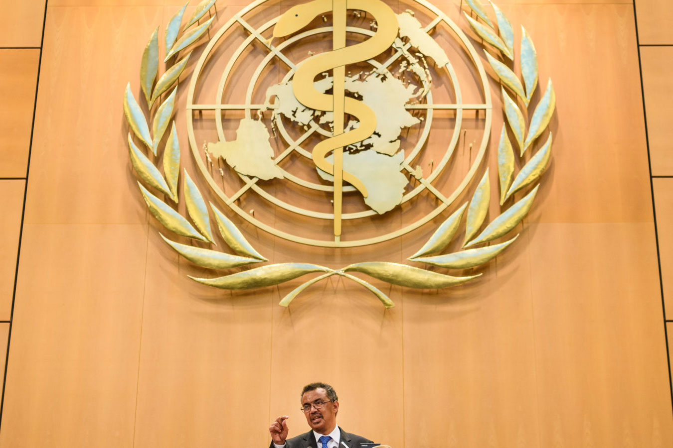 Image from Stat news article – WHO Director-General Tedros Adhanom Ghebreyesus FABRICE COFFRINI/AFP/GETTY IMAGES
