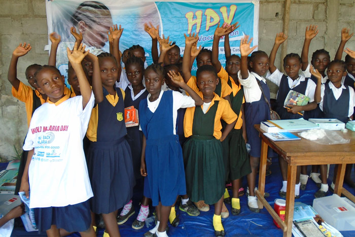 The HPV vaccine, which protects against the main cause of cervical cancer, will be delivered to over 14,000 adolescent girls through schools, health facilities and outreach services in Bong and Nimba districts.