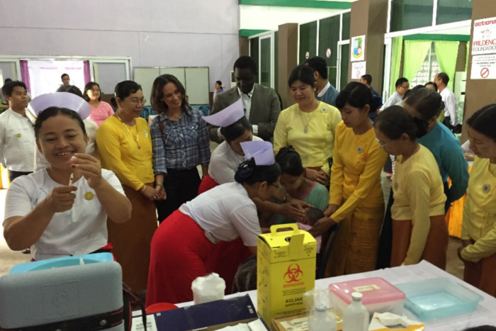 Myanmar's immunisation programme now includes 9 vaccines against 10 diseases. And there is more to come: Myanmar has successfully applied to introduce Japanese encephalitis vaccine in 2017, while rotavirus vaccine (against diarrhoea) and HPV vaccine (which prevents cervical cancer) are under consideration.