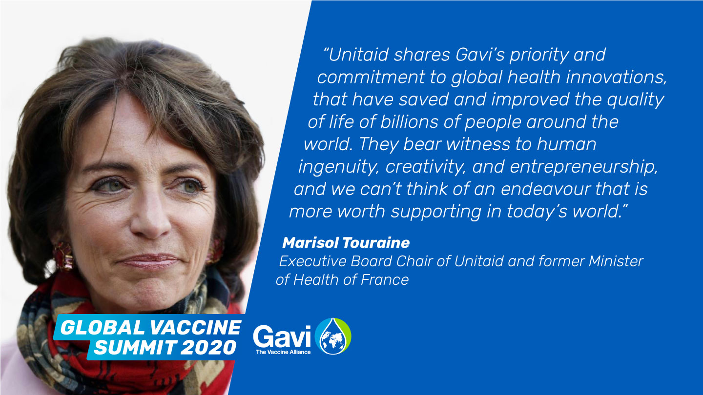 Marisol Touraine, Executive Board Chair of Unitaid and former Minister of Health of France