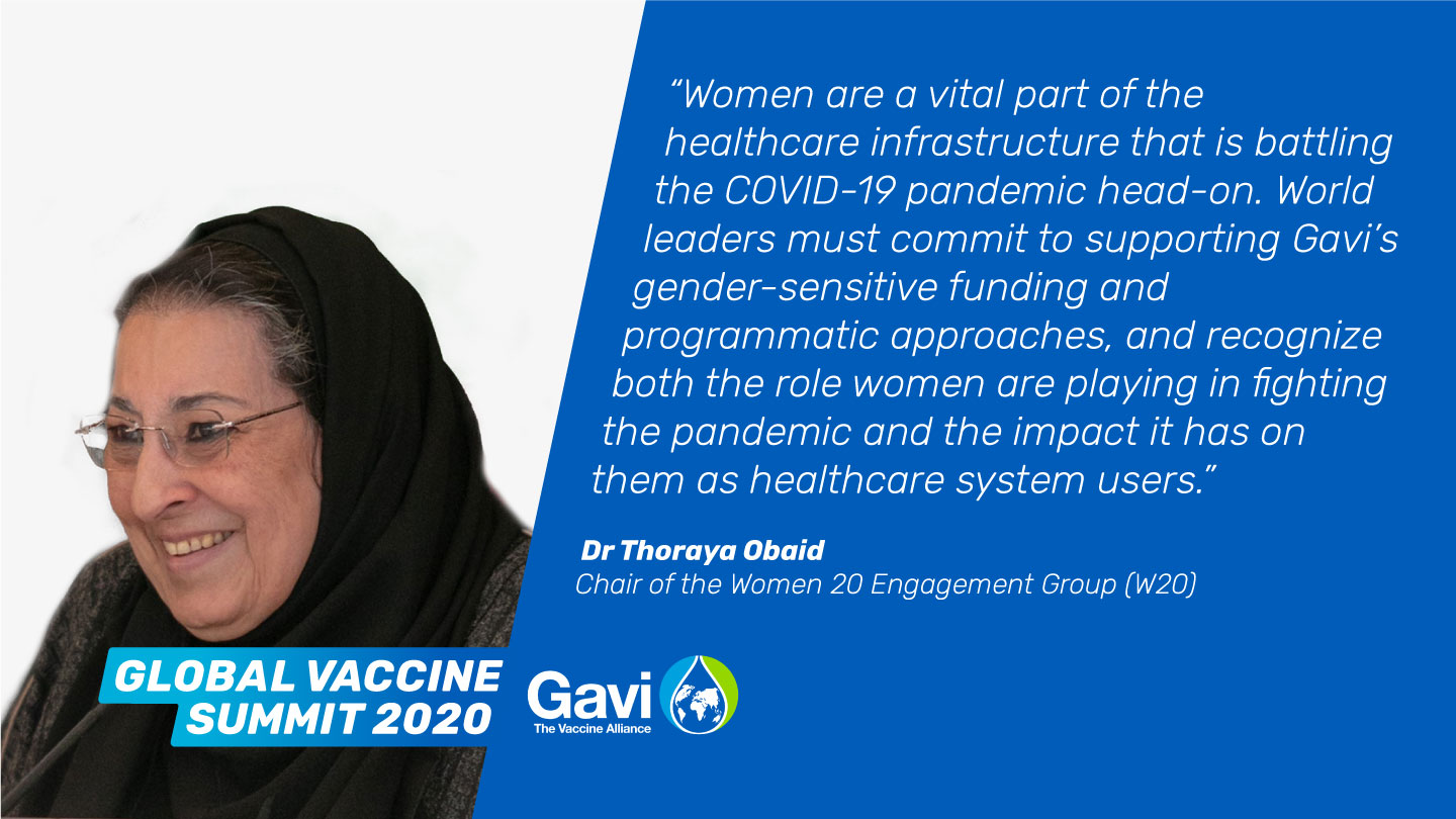 Dr Thoraya Obaid, Chair of the Women 20 Engagement Group (W20)