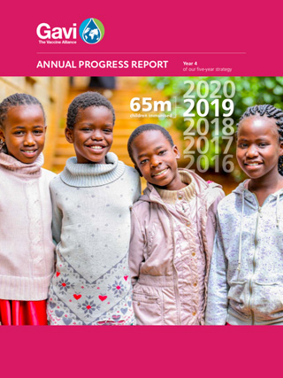 Download the 2019 Gavi progress report