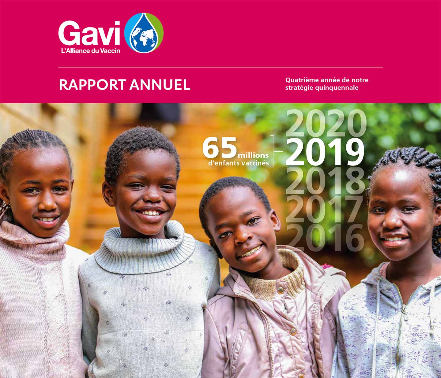 Download the Gavi progress report 2019