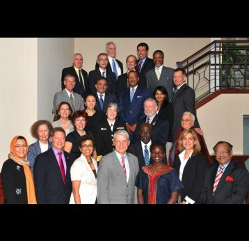 GAVI Board members in Washington DC. Source: GAVI/2012.