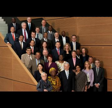 Gavi Board members in Geneva. Source: Gavi/2013/Jay Louvion.