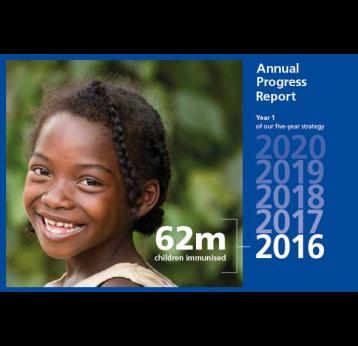 2016 Report: Gavi adapting to changing global health landscape