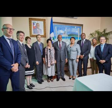 Gavi, the Vaccine Alliance welcomes Haiti's commitment to immunisation