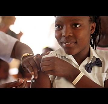 GAVI funds vaccines to protect girls against cervical cancer