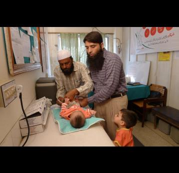 Pakistan is first South Asian country to launch vaccine against childhood pneumonia