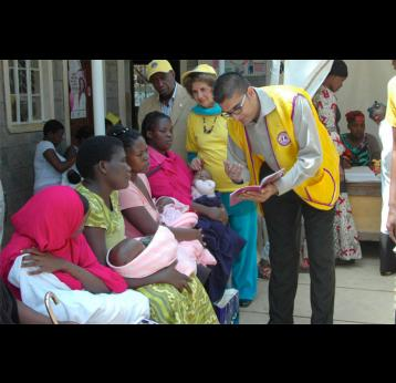 Lions Clubs mobilise for World Immunization Week