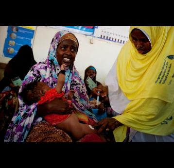 Children in Somalia to receive new vaccination against deadly diseases