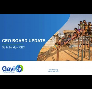 CEO Board Update June 2020