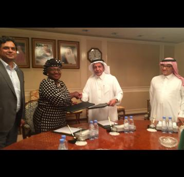 Gavi welcomes contribution of US$ 25 million from the Kingdom of Saudi Arabia