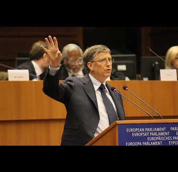 Bill Gates acknowledges EU support for GAVI