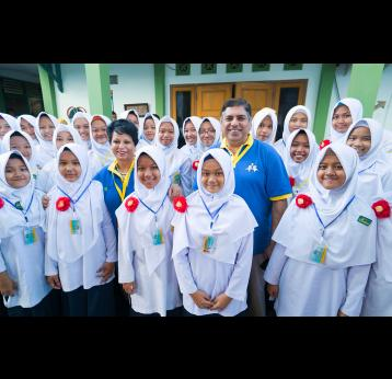 Indonesia's ambitious plans to tackle measles & rubella