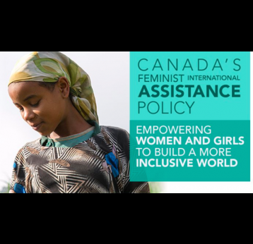 Applauding Canada's commitment to women, innovation and private sector partnerships for inclusive and prosperous future
