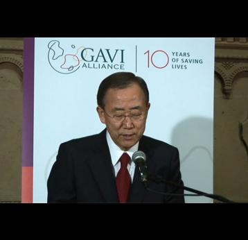 Call for Action and Resources, New York - Ban Ki-moon, UN Secretary General
