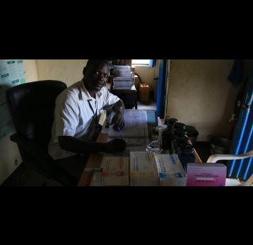Emmanuel Dominic Laku, Medical officer, Walag'lang Primary Care Health Clinic, Central Equatoria, South Sudan.