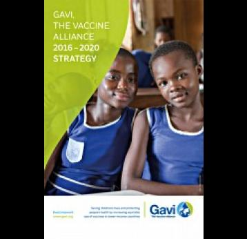 Gavi, the Vaccine Alliance 2016-2020 Strategy