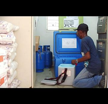 Reaching every child in Haiti, it starts with a fridge