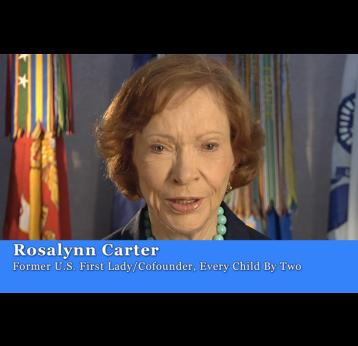 Rosalynn Carter - Support Child Survival Call to Action