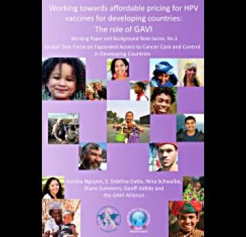 Working Towards Affordable Pricing for HPV Vaccines for Developing Countries: The Role of GAVI
