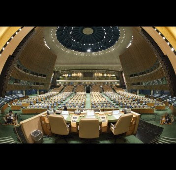 ​​​​​​​A view of the UN General Assembly Hall. UN Photo/Cia Pak