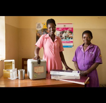 A Nurse in Uganda is a Trusted Messenger of Hope