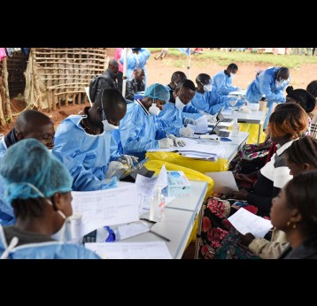 Vaccine drives like the one against Ebola in the DRC in 2018 mean African healthcare workers are well-prepared for coronavirus vaccine drives.