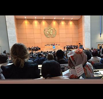 Immunisation at the 70th World Health Assembly