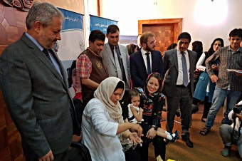 Afghanistan measles campaign