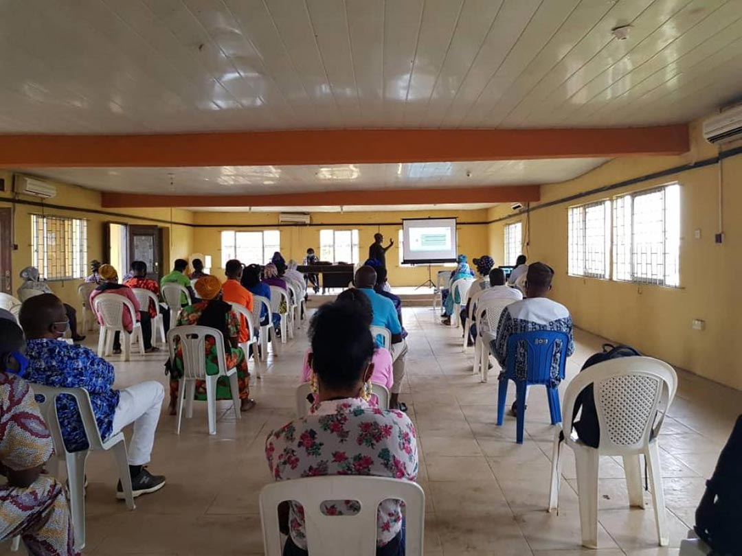 UNICEF Nigeria/2020 Volunteers at the contact tracing training, Epe, Lagos