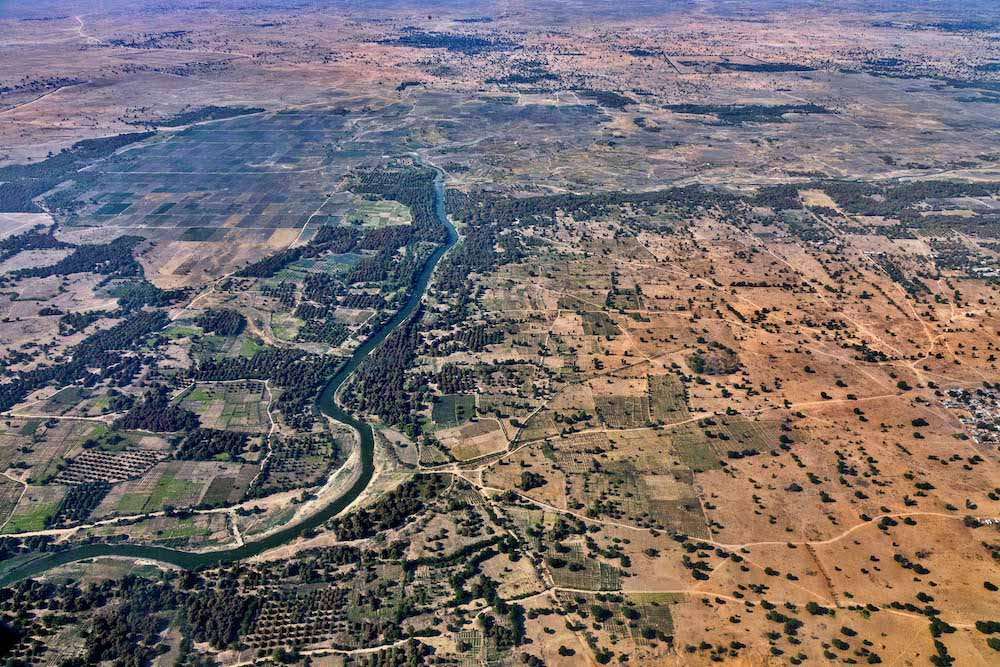 Aerial views of Borno State. © Andrew Esiebo/WHO