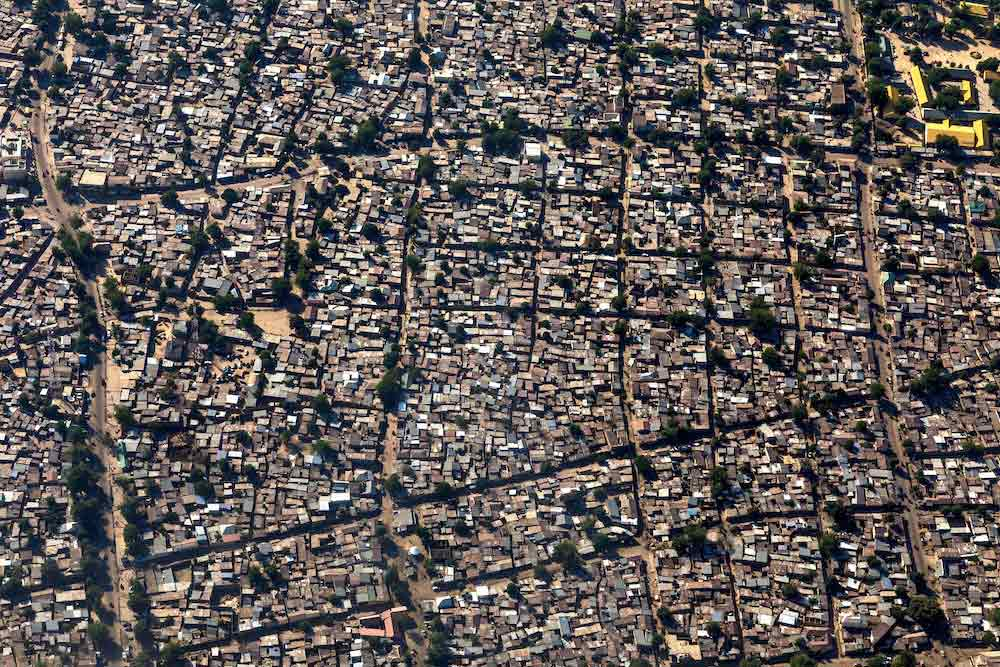 Aerial views of Maiduguri, Borno State's largest city. © Andrew Esiebo/WHO