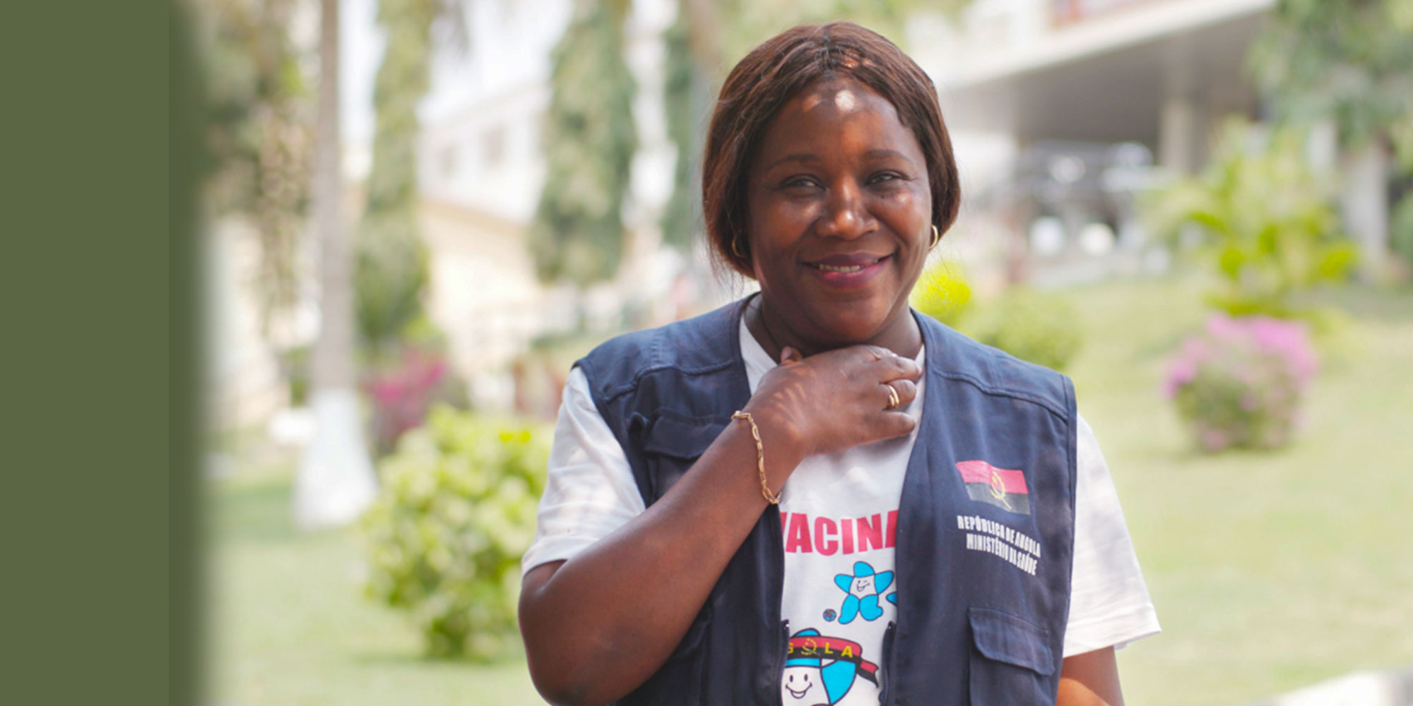 Dr. De Sousa has dedicated her career to ending polio in Angola. ©Alda De Sousa